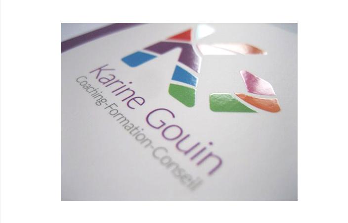 Karine Gouin Carte De Visite