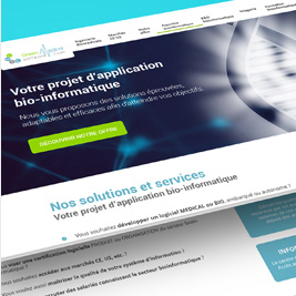 Green medical software - Applications Bioinformatiques