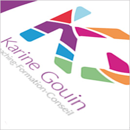 Karine Gouin Coaching - Graphisme Webdesign
