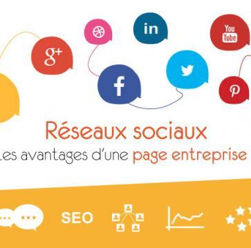 Réseaux sociaux Les avantages d'une page entreprise